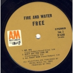 Free - Fire And Water